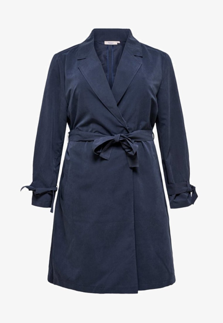 ONLY Carmakoma - Trenchcoat - dark blue