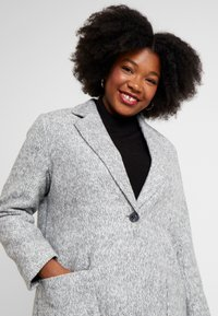 ONLY Carmakoma - CARASTRID MARIE COAT - Mantel - medium grey melange - 3