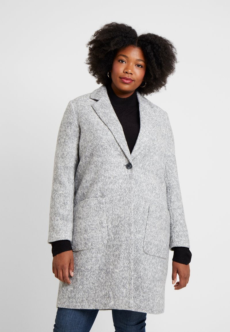 ONLY Carmakoma - CARASTRID MARIE COAT - Mantel - medium grey melange