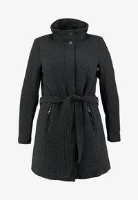 ONLY Carmakoma - CARCHRISTIE RIANNA COAT - Kurzmantel - dark grey melange - 4