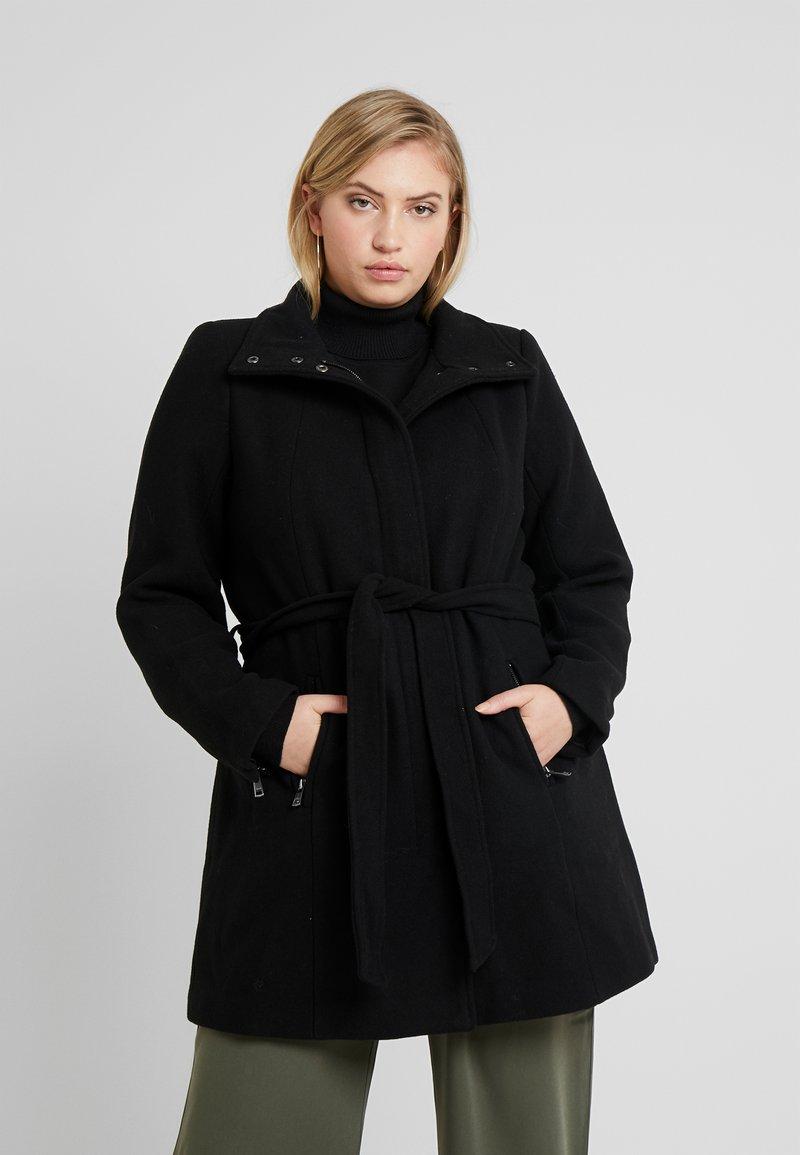ONLY Carmakoma - CARCHRISTIE RIANNA COAT - Short coat - black