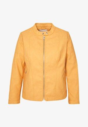 CARMELANIE JACKET - Bunda zumělé kůže - golden apricot