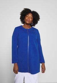 ONLY Carmakoma - CARKATHARINA SPRING COAT - Short coat - mazarine blue - 0