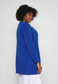 ONLY Carmakoma - CARKATHARINA SPRING COAT - Short coat - mazarine blue - 3