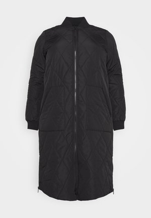 CARCARROT LONG QUILTED JACKET - Classic coat - black