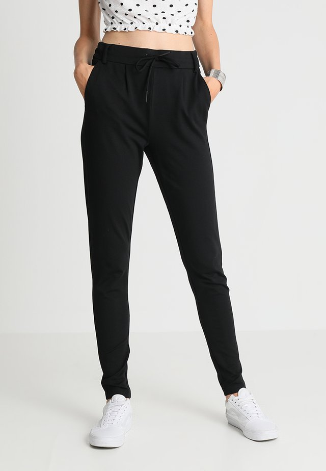 ONLPOPTRASH EASY COLOUR PANT - Verryttelyhousut - black
