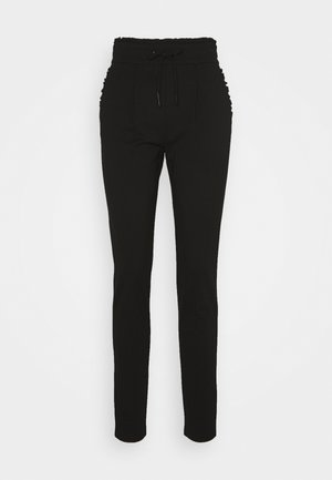 ONLPOPTRASH EASY FRILL PANT - Tracksuit bottoms - black