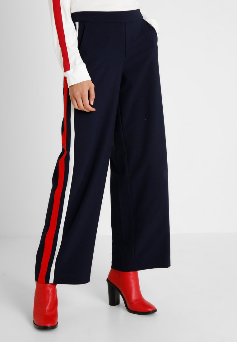 ONLY Tall - ONLROMA WIDE PANEL PANTS - Bukser - night sky