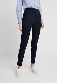 ONLY Tall - ONLLILLI PANTS - Spodnie materiałowe - dark blue - 0