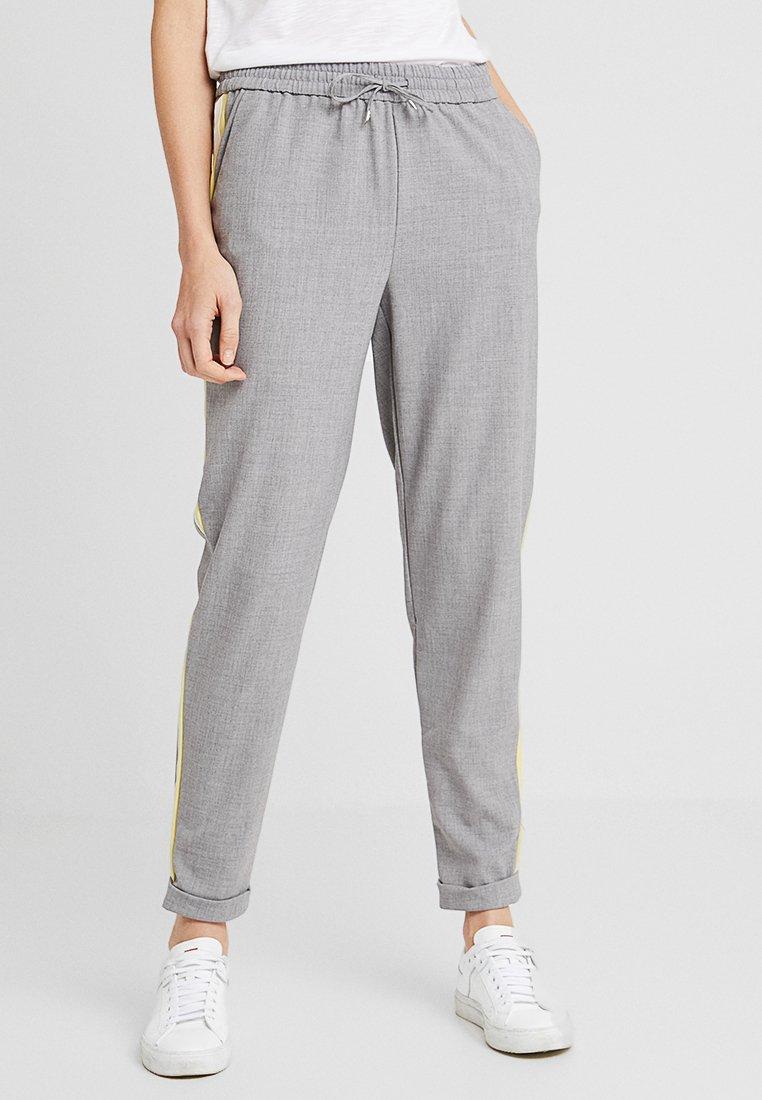 ONLY Tall - ONLROMA PANEL PANTS  - Stoffhose - light grey melange/cloud dancer/pop