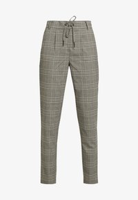 ONLY Tall - ONLPOPTRASH EASY SAVIL CHECK PANT - Pantalon classique - black/merlot/adobe - 4