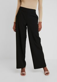 ONLY Tall - ONLINCA WIDE PANTS - Kalhoty - black - 0