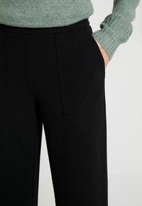ONLY Tall - ONLMARTA ROCKY WIDE PANTS - Tygbyxor - black - 5