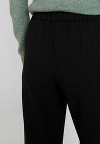 ONLY Tall - ONLMARTA ROCKY WIDE PANTS - Tygbyxor - black - 3