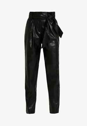 ONLGAIA VIOLA PABERBAG - Trousers - black