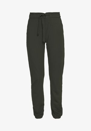 ONLPOPTRASH BELT PANT - Trousers - forest night