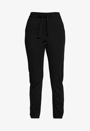 ONLPOPTRASH BELT PANT - Trousers - black