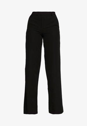 ONLSMASH PALAZZO - Trousers - black