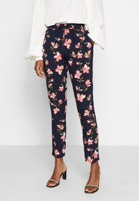 ONLY Tall - ONLNOVA PANT TALL - Trousers - night sky/magnolia - 0
