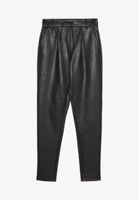 ONLY Tall - ONLPOPTRASH PANT - Spodnie materiałowe - black - 0