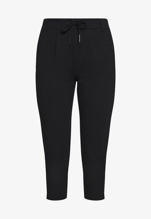 ONLPOPTRASH EASY CAPRI PANT - Kalhoty - black