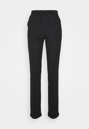 ONLEVITA IRENE LIFE STRING PANT - Kalhoty - black