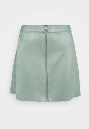 ONLEA BONDED SKIRT - Gonna a campana - chinois green