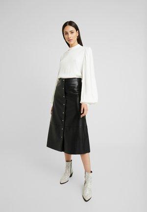 ONLJANE MIDI SKIRT - A-line skirt - black