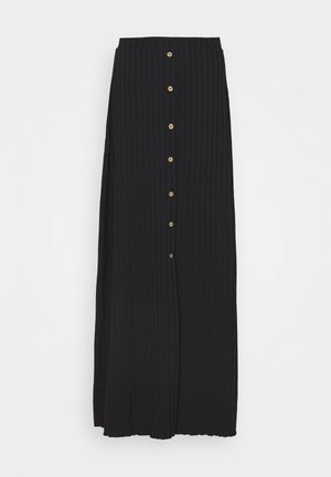 ONLDABI SKIRT - Falda larga - black
