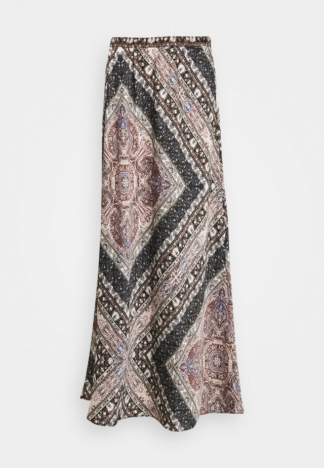 ONLCECILIA ANCLE SKIRT  - Maxi skirt - multi coloured