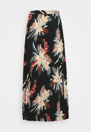 ONLALMA LIFE PLISSE SKIRT  - Maxi skirt - multi coloured