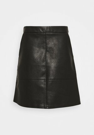 ONLLISA SKIRT - Miniskjørt - black