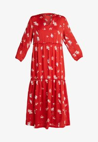 ONLY Tall - ONLGIZA DRESS - Vestito lungo - flame scarlet - 4