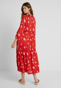 ONLY Tall - ONLGIZA DRESS - Vestito lungo - flame scarlet - 2