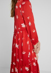 ONLY Tall - ONLGIZA DRESS - Vestito lungo - flame scarlet - 5