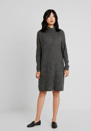 ONLMIRNA ROLLNECK DRESS - Jumper dress - dark grey melange