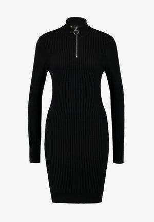 ONLTYRA HIGHNECK ZIP DRESS - Etuikjole - black