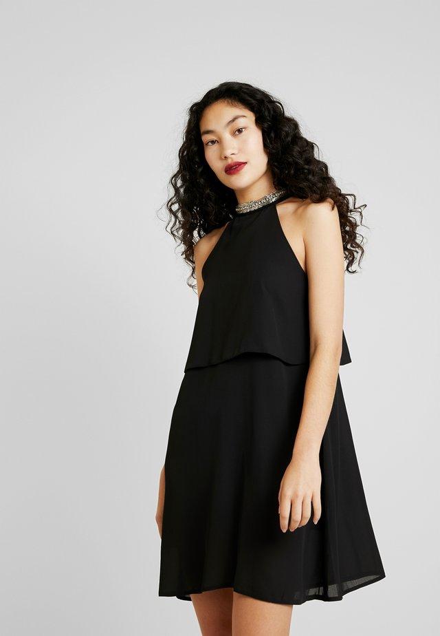 ONLGLORIA SHORT DRESS - Vestido informal - black
