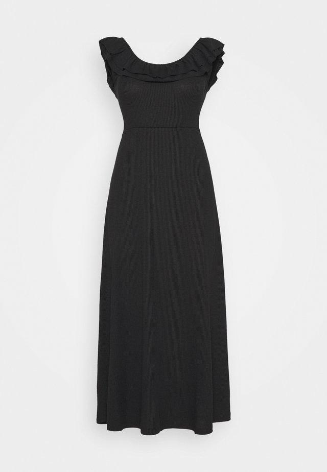 ONLFIESTA DRESS - Sukienka z dżerseju - black