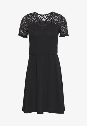 ONLMONNA DRESS - Jersey dress - black