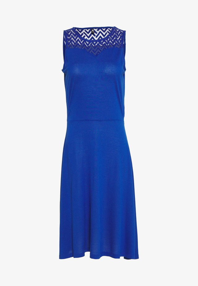 ONLNEW NICOLE LIFE DRESS TALL  - Vestito di maglina - mazarine blue