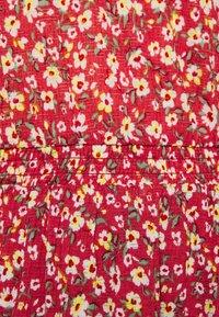 ONLY Tall - ONLPELLA 3/4 V NECK DRESS  - Kjole - red - 2