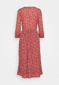 ONLY Tall - ONLPELLA 3/4 V NECK DRESS  - Kjole - red - 1