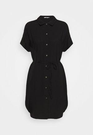 ONLNOVA LIFE SHIRT DRESS SOLID - Shirt dress - black