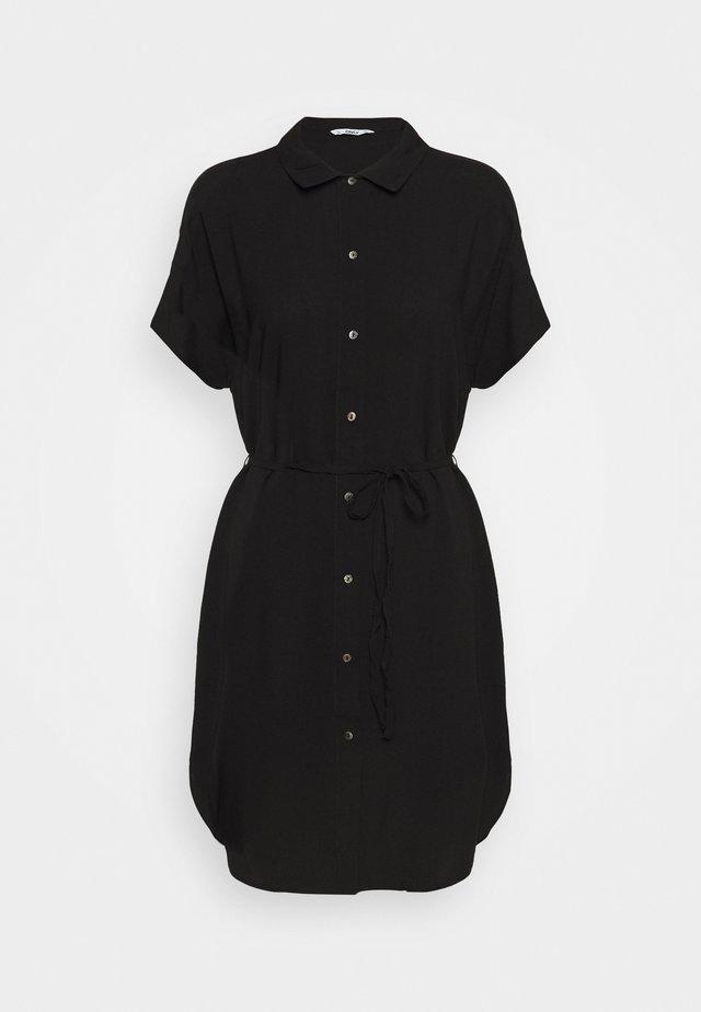 ONLNOVA LIFE SHIRT DRESS SOLID - Blousejurk - black