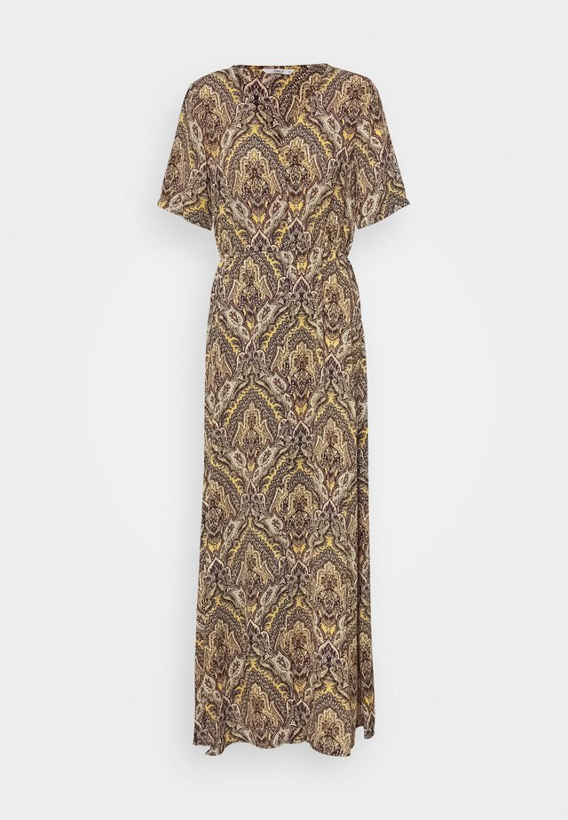 ONLHANNA ANCLE DRESS - Maxi-jurk - golden spice