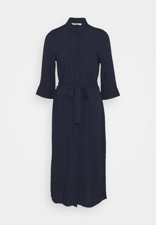 ONLNOVA LIFE 3/4 SHIRT DRESS  - Košilové šaty - night sky