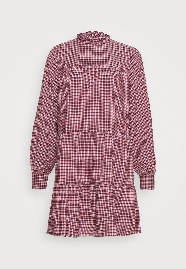 ONLCAROLE LIFE DRESS - Shirt dress - pomegranate
