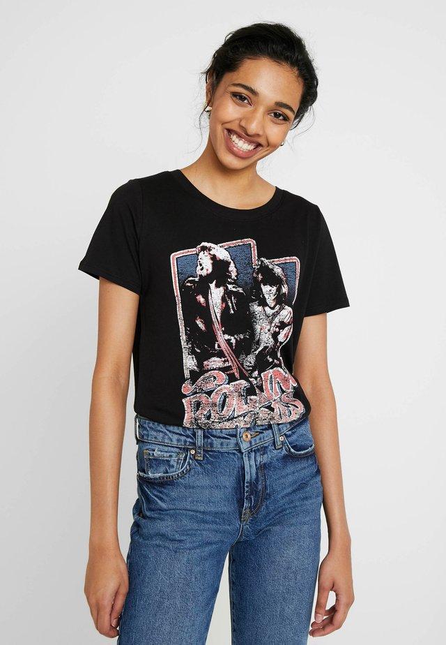 ONLROLLING  - Camiseta estampada - black