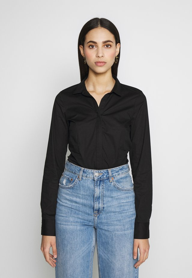 ONLSELMA BODY - Button-down blouse - black